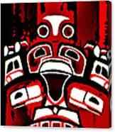 Canada - Inuit Village Totem Canvas Print