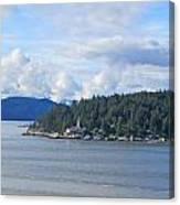 Canada Lighthouse Canvas Print