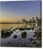Canada Place Morning Canvas Print