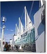 Canada Place Vancouver Canvas Print