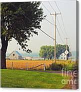 Canada Rural Scene Canvas Print