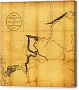 Canada Western 1801 Canvas Print