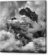 Canadian Coastal Mountains - Tantalus Mountains Canvas Print