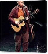 Canadian Folk Rocker Bruce Cockburn In 2002 Canvas Print