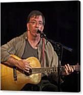 Canadian Folk Singer James Keeglahan Canvas Print