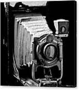 Canadian Kodak Black And White Camera Canvas Print