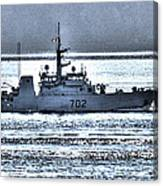 Canadian Navy Nanaimo M M702 Canvas Print