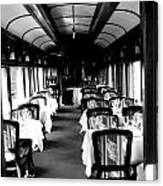 Canadian Pacific Dining Canvas Print