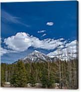Canadian Rockies 13008 Canvas Print