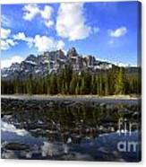 Canadian Rockies 8 Canvas Print