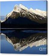Canadian Rockies Mount Rundle 1 Canvas Print