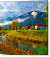 Canal 1 Canvas Print