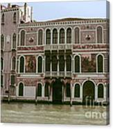 Canal Architecture Canvas Print
