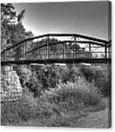 Canal Bridge Canvas Print