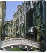 Canal Bridges Canvas Print