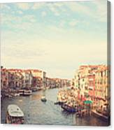 Canal Grande In Venezia Canvas Print