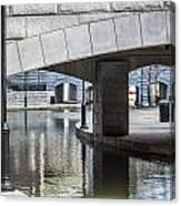 Canal Walk Canvas Print
