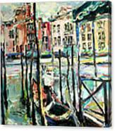 Canale Grande 2 Canvas Print