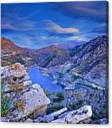 Canales Lake Canvas Print