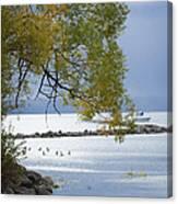 Canandaigua Lake Outlet Canvas Print