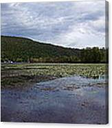 Canandaigua Lake Panorama Canvas Print