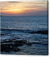 Canary Sunset Canvas Print