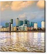 Canary Wharf - London - Uk Canvas Print