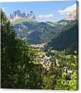 Canazei - Val Di Fassa Canvas Print