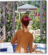 Candace Being Candlish On Canvas Canvas Print