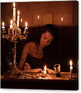 Candlelight Fantasia Canvas Print
