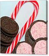 Candy Cane -  Cookies - Sweets Canvas Print