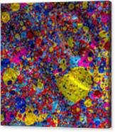 Candy Colored Blast Canvas Print