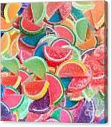 Candy Fruit Canvas Print