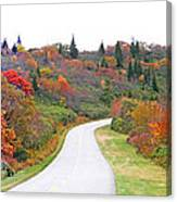 Candy Land On The Blueridge Parkway Canvas Print
