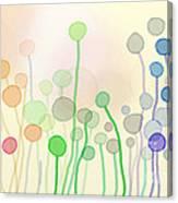 Candy Rain 2 Canvas Print