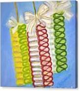 Candy Ribbon  Canvas Print