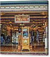 Candy Shop Main Street Disneyland 01 Canvas Print