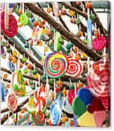 Candy Tree Canvas Print