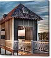 Canebrake Boat House Canvas Print