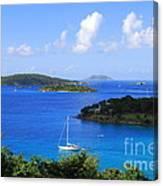 Caneel Bay In St. John In The U. S. Virgin Islands Canvas Print