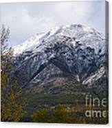Canmore Rocky Mountain View  Canvas Print