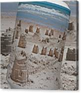 Canned Castles Canvas Print