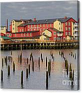Cannery Pier Hotel Canvas Print