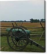 Cannon At Gettysburg Canvas Print