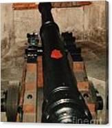 Cannon At Pendennis Castle Canvas Print