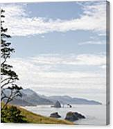 Cannon Beach At Ecola State Park Canvas Print
