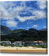 Cannon Beach South Canvas Print