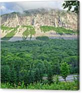 Cannon Cliff - Franconia Notch State Park New Hampshire Usa  Canvas Print