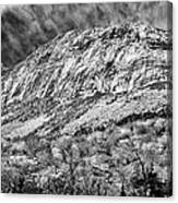 Cannon Cliffs Wind Canvas Print