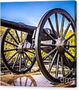 Cannon In New Orleans Washington Artillery Park Canvas Print